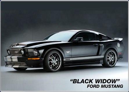 Black Widow Ford Mustang